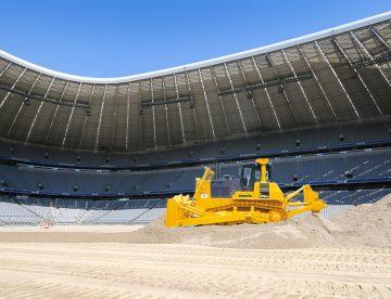 Kvarcni pesak za drenažu sportskih terena